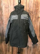 Columbia Core Interchange Men's Jacket Size Large SHELL ONLY EXCELLENT CONDITION
