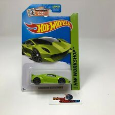 SALE!  Lamborghini Sesto Elemento #198 * Green * 2015 Hot Wheels * Y62