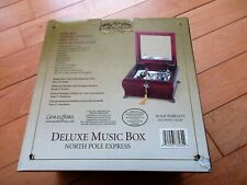 Music Box Deluxe Style #78164 North Pole Express Gold Label Collection