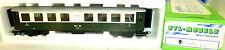RhB B 2224 Personenwagen 2te Klasse grün creme STL Models 92202/4 OVP H0m  å  *