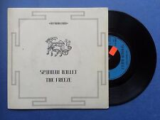 SPANDAU BALLET - Le Freeze, chrysalis chs-2486 EX état
