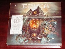 EPICA : The Quantum Enigma, Edition Deluxe 2 CD SET 2014 CHANSONS Extras Digipak