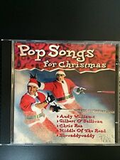 Pop Songs for Christmas Johnny Cash, The Miracles, Glen Campbell, The Jet.. [CD]