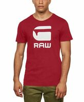 G-Star Raw Mens Shirt Red Size 2XL Graphic Tee Short Sleeve Jersey $35 #172
