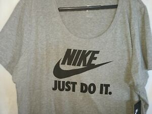 Nike T shirt Women's Just Do It Size 2x-Large New