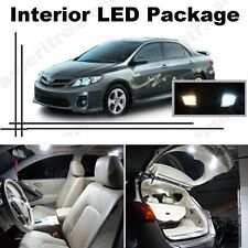 White LED Lights Interior Package Kit for Toyota Corolla 2003-2014 ( 6 Pcs )