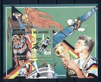 GUINEA*1991* S/Sheet* MNH** World Football Cup Winners - Mi.No BL379