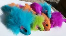 "Mouse Cat Toy - 50 real Fur Mice 2"" Long - Multicolored"