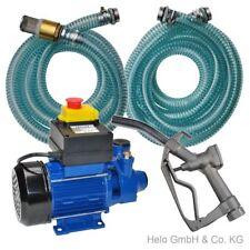 Kraftstoffpumpe Dieselpumpe 600 Watt 230 Volt Tankstelle Ölpumpe Fass Heizöl