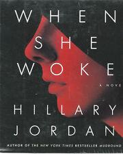 Audio book - When she Woke by Hillary Jordan  -  CD