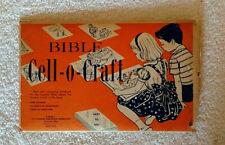 Vintage Bible Cell-o-Craft Kit