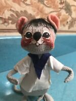 """Vintage 1970 Annalee Mouse 7"""".Cute and Adorable. Free Shipping."""
