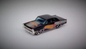 HotWheels '66 Chevy Nova Diecast Car - Near Mint (Rare Variant)