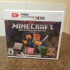 Minecraft: New Nintendo 3DS Edition (Nintendo 3DS, 2017) Complete **TESTED