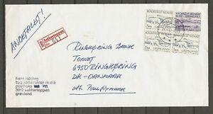 GREENLAND - REK letter Sukkertoppen 21/5-1984.