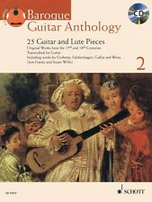 Baroque Guitar Anthology Vol. 2 25 Guitar and Lute Pieces With a CD of 049019109