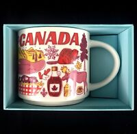 """Starbucks Canada """"Been There"""" Series 2018 Collection Coffee Mug 14 fl oz NEW"""