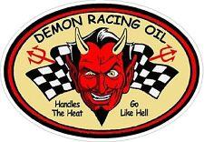 Demon Racing Oil Vintage Drag Racing sticker decal NHRA Rat Rod Street Rod