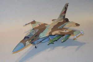 47cm 1:32 3D Paper Model F-16A Fighter Plane Aircraft Puzzle DIY Military Gift