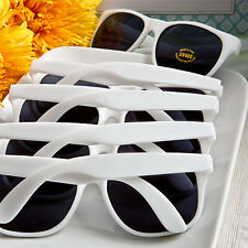 White Plastic Sunglasses Beach Pool Wedding Bridal Shower Party Favors