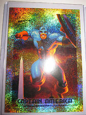 MARVEL MASTERPIECES SERIE 1994 CAPTAIN AMERICA 1 OF 10 GOLD FOIL CARD MINT