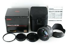 Near Mint!! Sigma 50mm F1.4 EX DG HSM Lens for Sony from Japan 1472