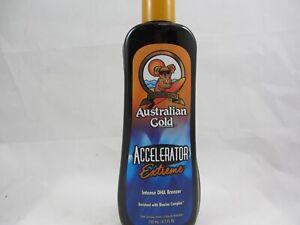 AUSTRALIAN GOLD ACCELERATOR EXTREME INTENSE DHA BRONZER TANNING LOTION