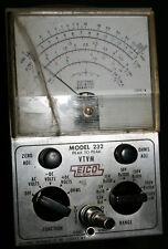Eico Model 232 Peak To Peak  VTVM
