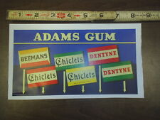 adams gum card paper stock # 266