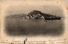 CPA MARSEILLE Les Iles du Frioul, Steamer en Quarantaine (444730)