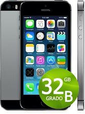 APPLE IPHONE 5S 32GB NERO GRADO B + ACCESSORI + GARANZIA 12 MESI - SPACE GRAY