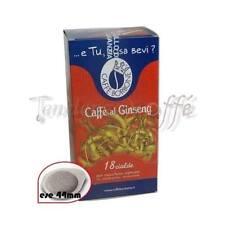 36 Cialde Ginseng Caffe Borbone ESE 44 mm per Mokona, Tazzona Bialetti