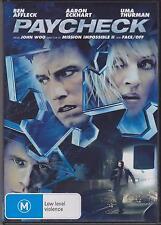 PAYCHECK - BEN AFFLECK - AARON ECKHART - UMA THURMAN - DVD - NEW -
