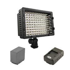 Pro 1 HD LED video light D54 for Panasonic DVX100A DVX100B HVX200 HVX200A camera