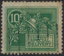 TMM* 1908 US Special Delivery VF S# E7 used/hinge/ medium cancel