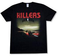 """THE KILLERS """"ALBUM COVER TOUR 2012"""" BLACK T-SHIRT NEW OFFICIAL ADULT BATTLE BORN"""