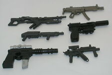 Action Figure Gun Lot of 6 GI411