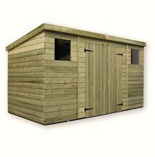 More details for empire 5000 pent garden shed 10x8 12x8 14x8 shiplap pressure treated t&g
