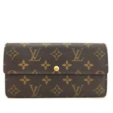 Authentic Louis Vuitton Monogram Portefeiulle Sarah Long Bifold Wallet /10982