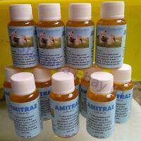 Amitraz 12.5% Repacked Package,   20ml Mange Mites/Demodetic scabies in DOG