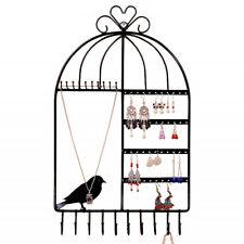 Wall Mount Jewelry Display Holder Earring Necklace Hook Organizer Hanger Rack