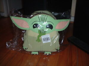 LOUNGEFLY THE CHILD WITH FROG MINI BACKPACK~ WITH TAGS~BRAND NEW~ STAR WARS~