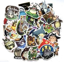 50 pcs My Neighbor Totoro Anime Cartoon Sticker Decals for Luggage Playing Room
