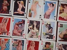 Tolle 60er Pin Up Girls Erotische Spielkarten Erotik Vintage