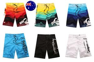 Mens Plus Size Quickdry Surf Board Shorts Beach Swimming Trunks Swimwears