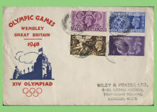 G.B. 1948 Olympics set on First Day Cover, London