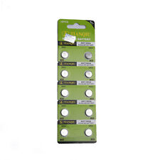 10 x 1.5V AG7 / 399A / LR927 / LR57 Alcalino Celle Batteria A Bottone