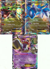 SET of 3 Pokemon cards HOOPA LATIOS RAYQUAZA EX HOLO PROMO XY71 XY72 XY73