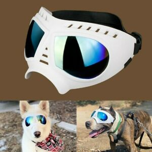 Dog Goggle UV Protection Dog Sunglasses Waterproof Windproof Adjustable Goggles
