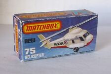 Repro Box Matchbox Superfast Nr.75 Helicopter